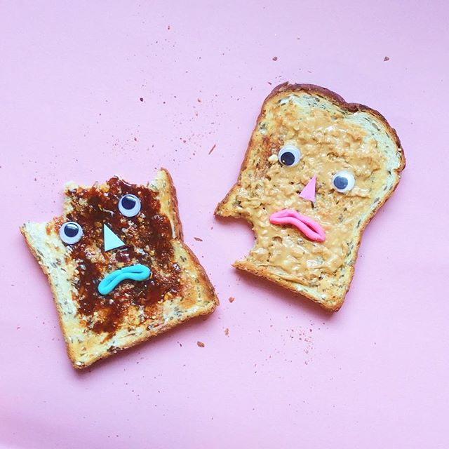 Artist Brings Food To Life By Playfully Adding Quirky Faces To Them 7