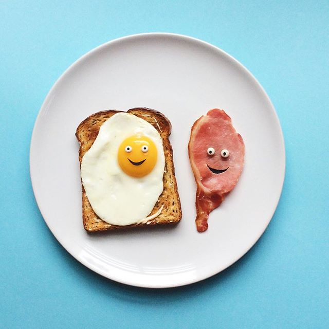Artist Brings Food To Life By Playfully Adding Quirky Faces To Them 14