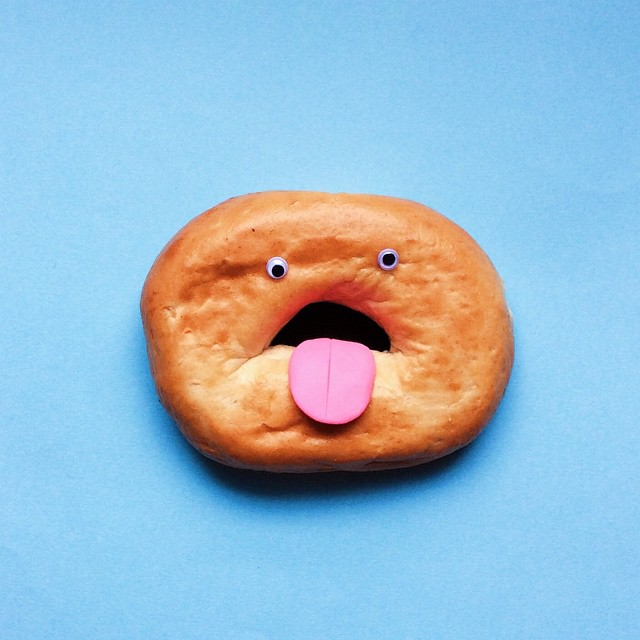 Artist Brings Food To Life By Playfully Adding Quirky Faces To Them 2