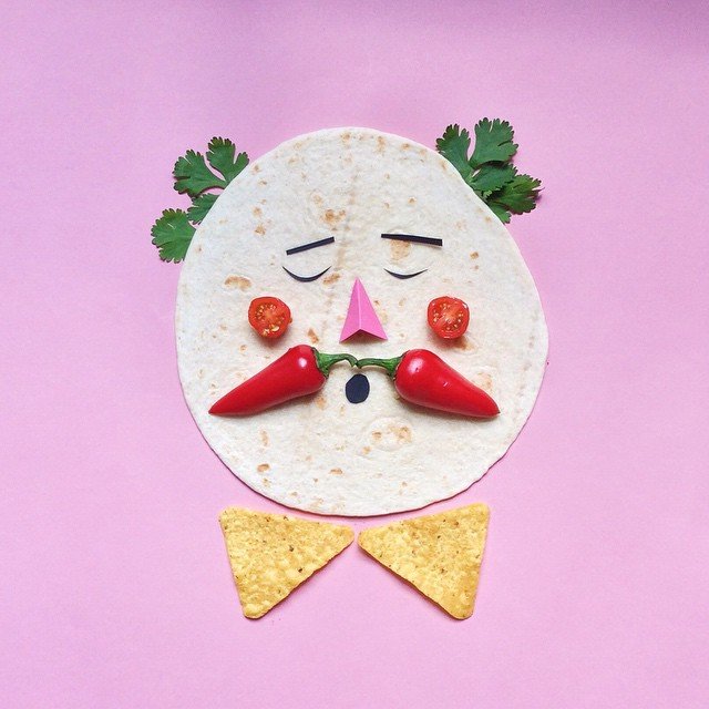 Artist Brings Food To Life By Playfully Adding Quirky Faces To Them 5
