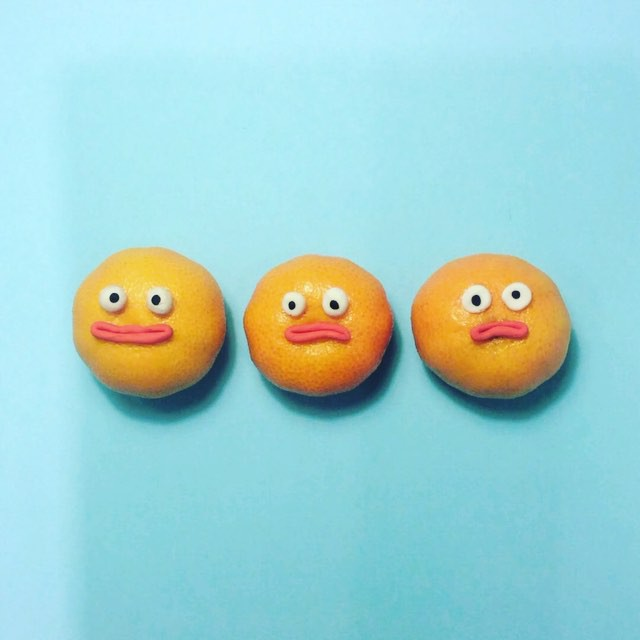Artist Brings Food To Life By Playfully Adding Quirky Faces To Them 3