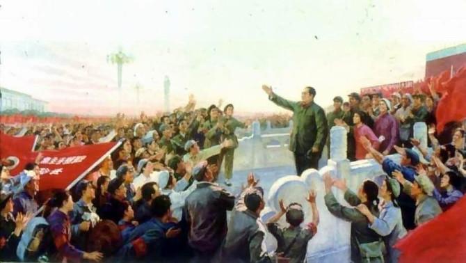 《一定要把无产阶级文化大革命进行到底》靳尚谊与侯一民等合作