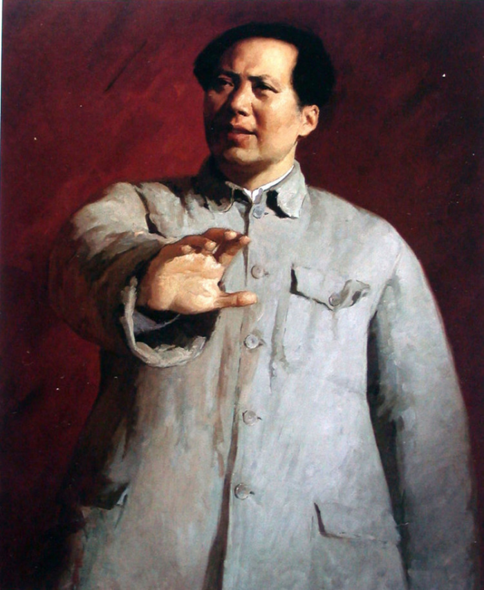 靳尚谊《毛主席》