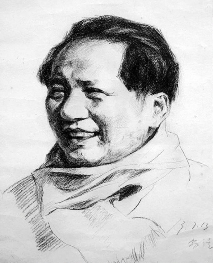 毛泽东肖像 2