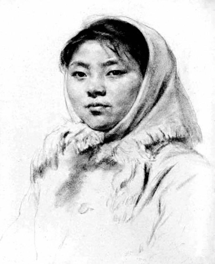 陕北妇女像