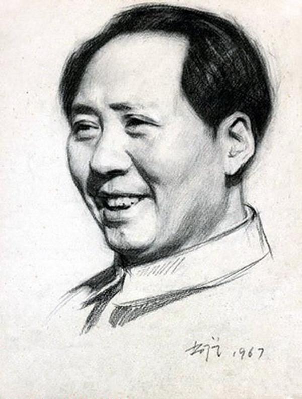 靳尚谊素描人物欣赏 - 李梨 - 李梨