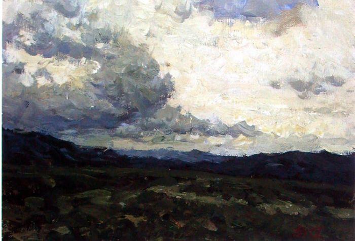 画家靳尚谊风景油画作品。 - │Icê Blüe│ - ∑xtent°∧rt,2011