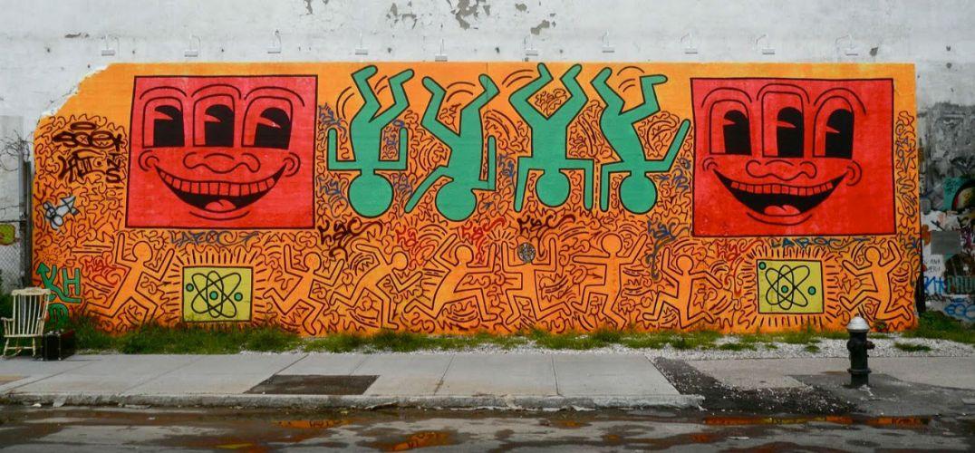 涂鸦普普艺术家:凯斯哈林(Keith Haring)