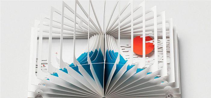 这位日本建筑师 将书籍做得像建筑一样美丽