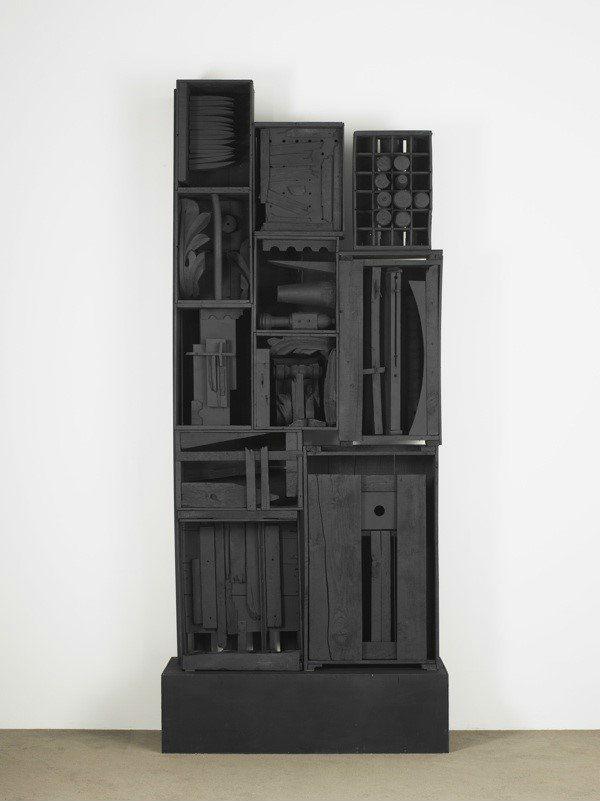 图片:©Estate of Louise Nevelson/Artists Rights Society (ARS), New York. Courtesy of Pace Gallery.