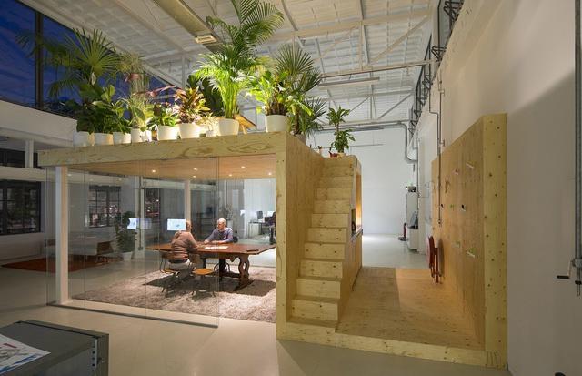 设计  这间loft办公室(loft office)位于荷兰鹿特丹(rotterdam),由jv