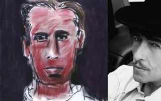 摇滚咖们的自画像 画得好坏主要看气质!