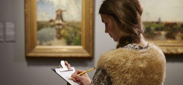 这家博物馆鼓励你把眼睛看到的一切都画下来