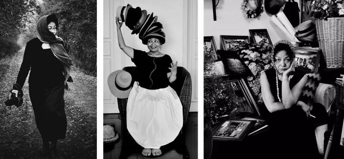 她50岁才拿起相机 拍摄穿着森女风的自己