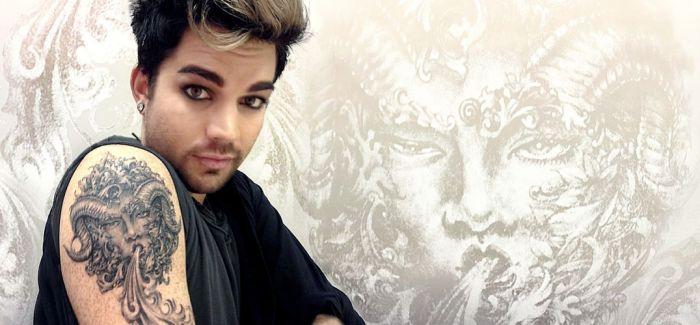 """""""美国偶像""""明年初中国开唱: Adam Lambert 其实我不喜欢大浓妆"""