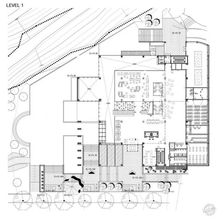 湖西大学图书馆/ Bang Keun YOU + DongWoo Architects and Consultants第20张图片