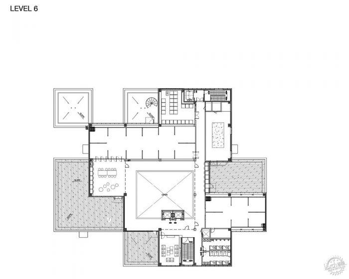 湖西大学图书馆/ Bang Keun YOU + DongWoo Architects and Consultants第25张图片