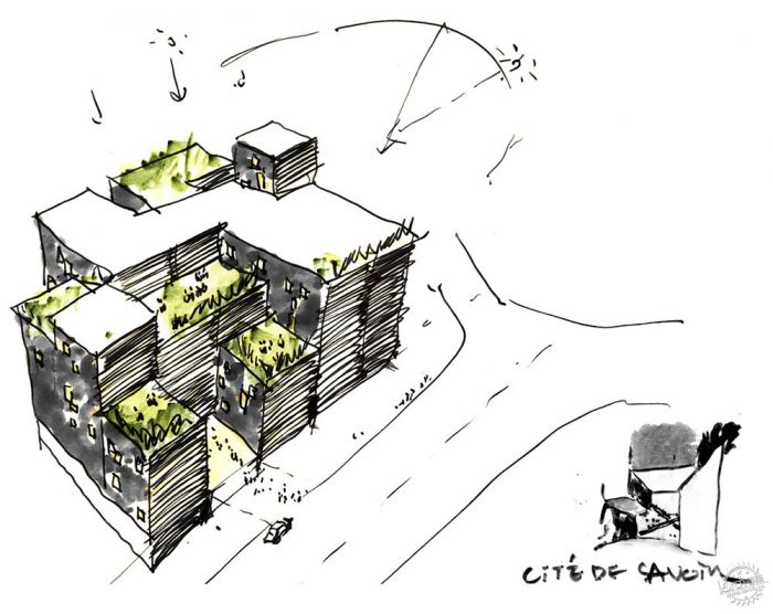湖西大学图书馆/ Bang Keun YOU + DongWoo Architects and Consultants第16张图片