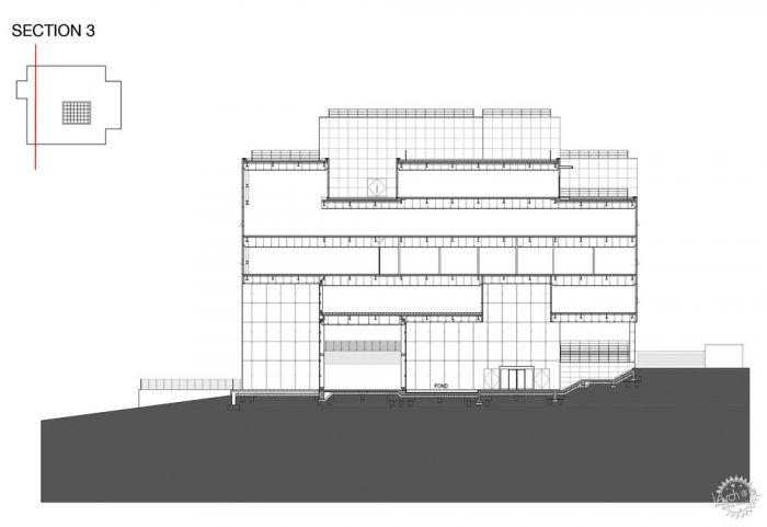 湖西大学图书馆/ Bang Keun YOU + DongWoo Architects and Consultants第29张图片