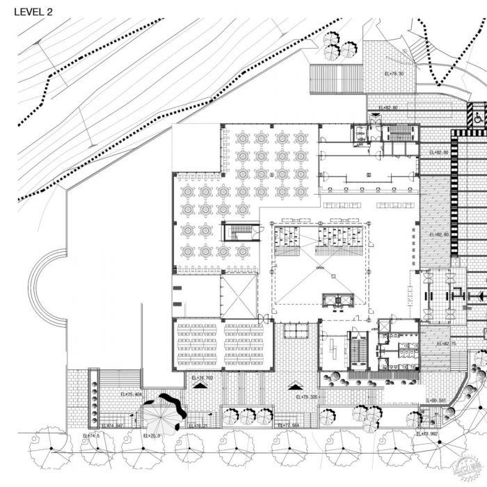 湖西大学图书馆/ Bang Keun YOU + DongWoo Architects and Consultants第21张图片