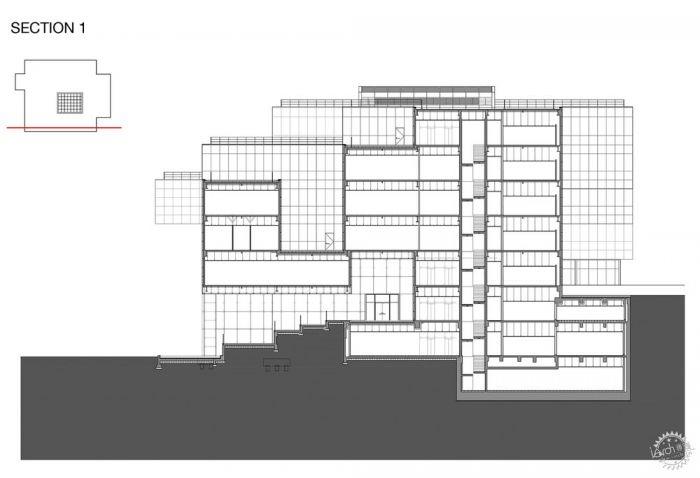 湖西大学图书馆/ Bang Keun YOU + DongWoo Architects and Consultants第27张图片