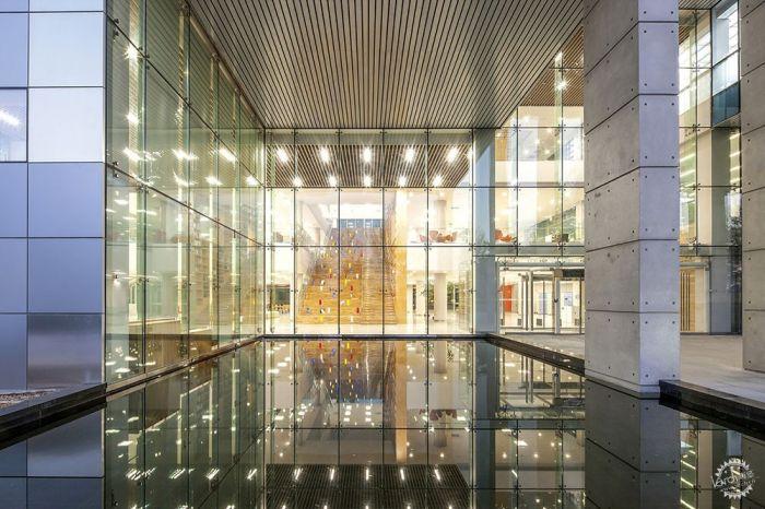 湖西大学图书馆/ Bang Keun YOU + DongWoo Architects and Consultants第4张图片