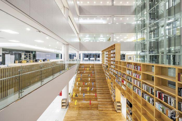 湖西大学图书馆/ Bang Keun YOU + DongWoo Architects and Consultants第8张图片