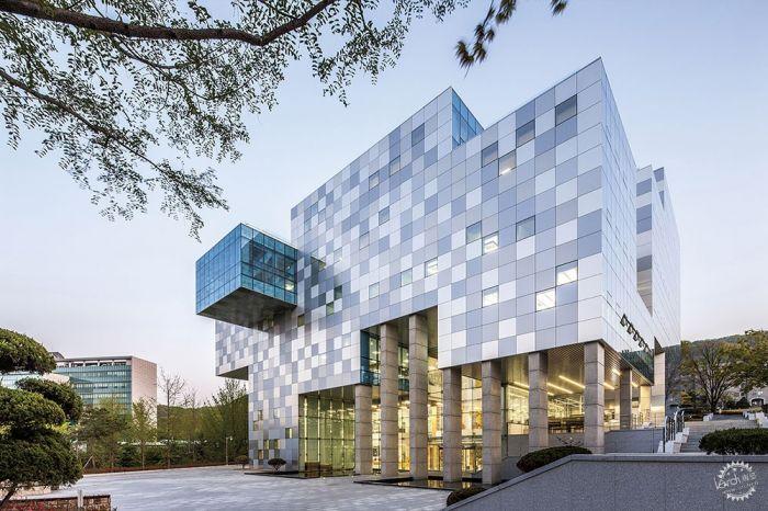 湖西大学图书馆/ Bang Keun YOU + DongWoo Architects and Consultants第15张图片
