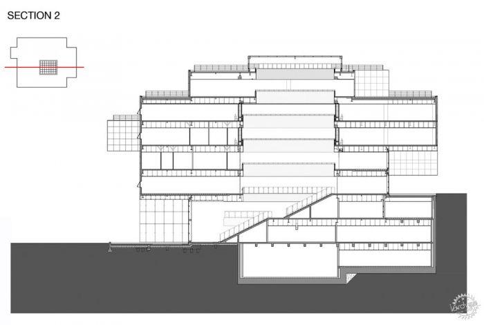 湖西大学图书馆/ Bang Keun YOU + DongWoo Architects and Consultants第28张图片