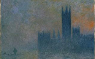 莫奈画的确实是雾霾