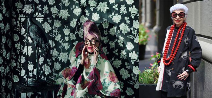90岁的混搭偶像Iris Apfel:生命不止 时尚不熄