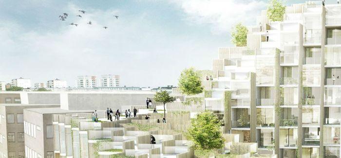 斯德哥尔摩79科技园住宅项目/BIG事务所