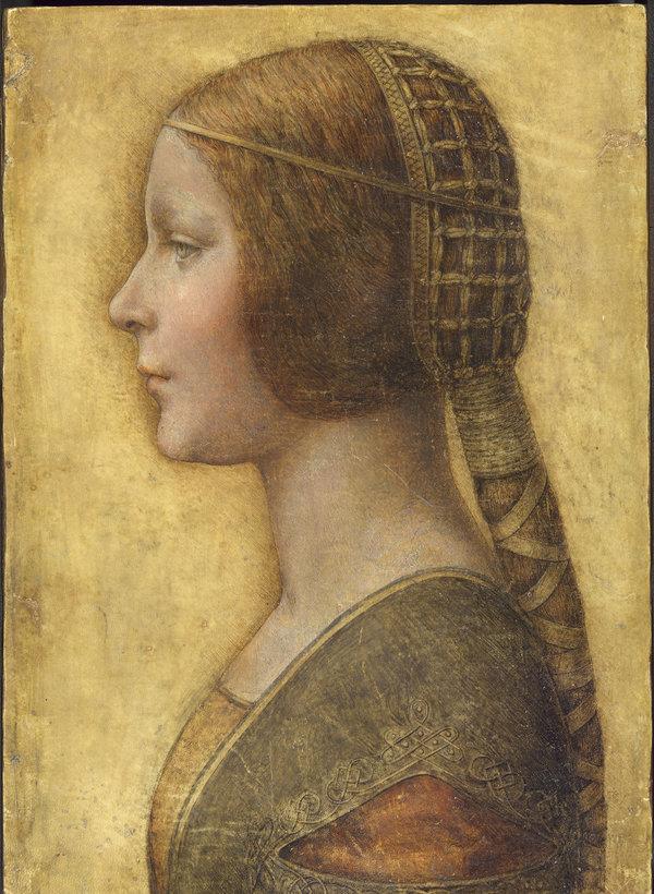 专家们就这幅命名为《美丽的公主》的画作是否出自列奥纳多之手,有着不同的意见。