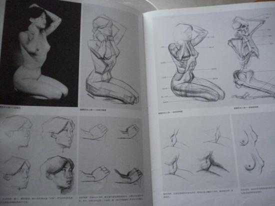 人体写生是美术系学生的基本习练内容