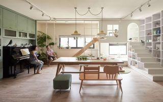 家庭的室内游乐园/ HAO Design
