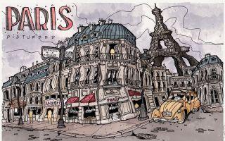 扭曲的世界城市
