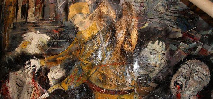 画家帕赫《暴行》捐赠南京大屠杀纪念馆:宣扬真相