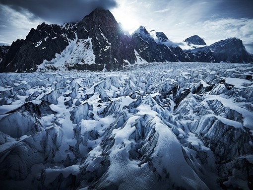 tim kemple气势恢宏的雪山风光摄影