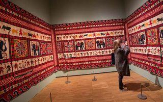 印度:把神明草木历史记录在织物之上