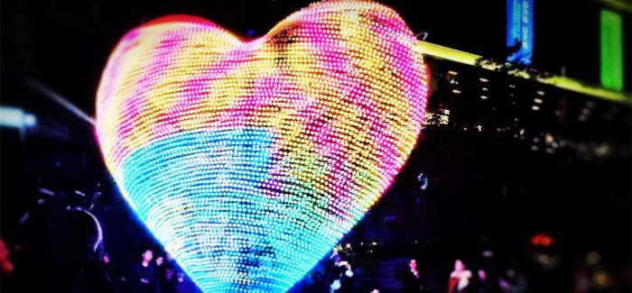 """Lumiere China光影中国""灯光艺术节在上海虹桥天地开幕"