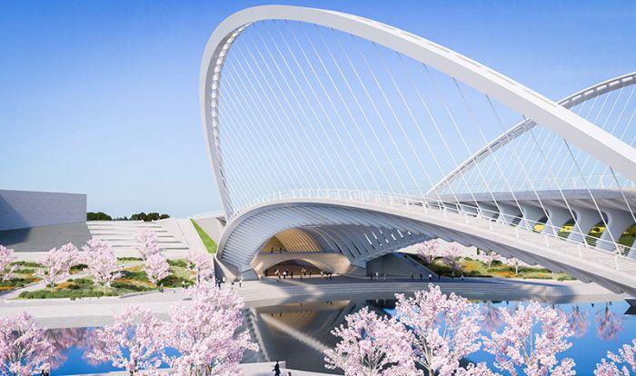 世界上最好的桥梁设计师 要给武汉人修三座新桥