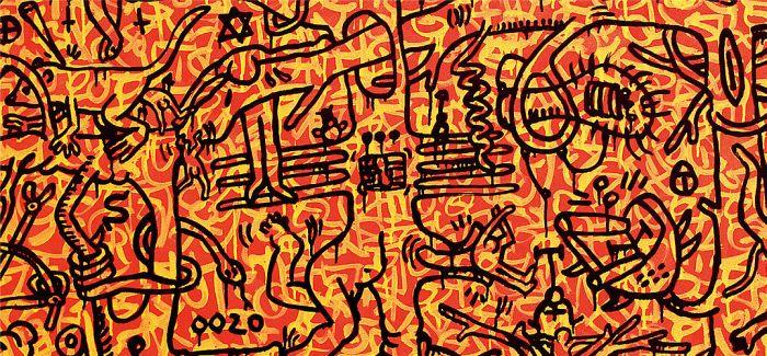 凯斯哈林:涂鸦波普艺术家