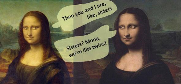 """艺术专家可能发现第二个""""蒙娜丽莎"""""""