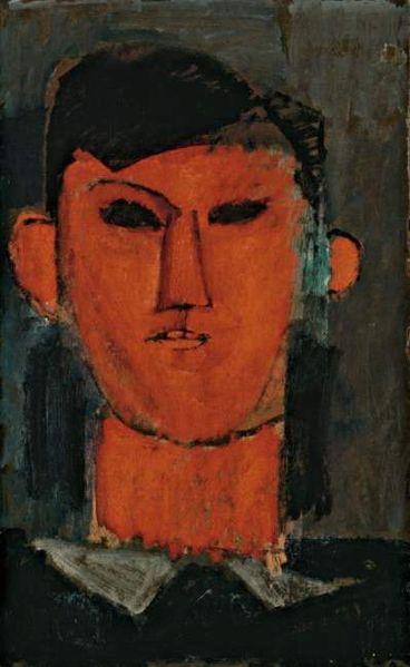莫迪利阿尼-毕加索画像1915