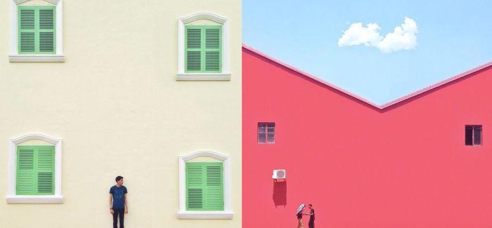给墙壁点儿颜色看看