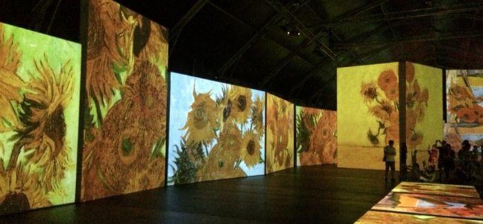 【2015十大话题性展览】《不朽的梵高》感应艺术大展
