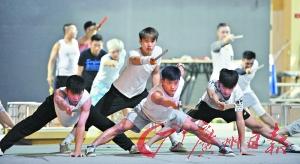 《笑傲江湖》打上杂技舞台