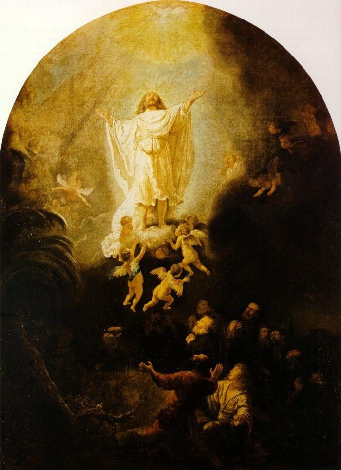 伦勃朗《 基督升天(耶稣的复活)》