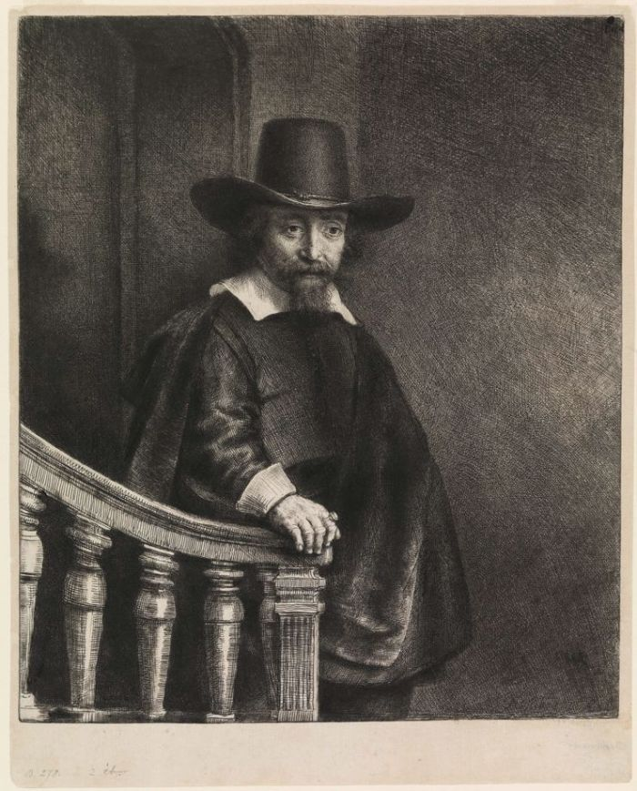伦勃朗《 伊弗雷姆·伯纳斯,犹太医生》