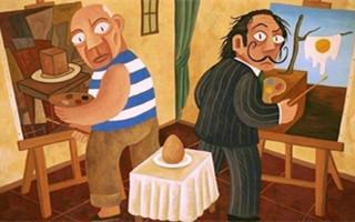 达利与毕加索:爱与追逐